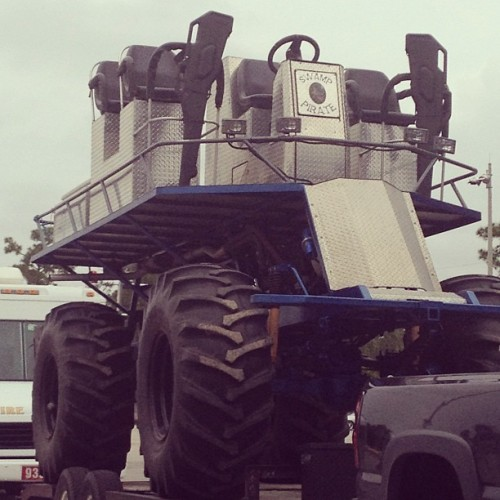 um…yes please, hunting in the Everglades on one of these.