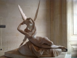 Antonio Canova (1757-1822), Psyche Revived by Cupid's Kiss, 1777, Musée du Louvre.