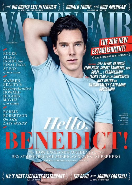 benedict cumberbatch magazine cover my faves