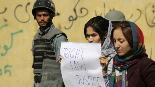 "Afghan parliament fails to pass divisive women's law ""Afghanistan's parliament failed to pass a law on Saturday banning violence against women, a severe blow to progress made in women's rights in the conservative Muslim country since the Islamist Taliban was toppled over a decade ago."""