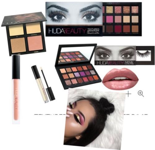 polyvore beauty Huda Beauty teens hudamakeup