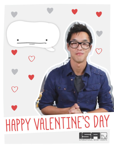 isatv:  With Valentine's just around the corner, we here at ISAtv have made something just for this occasion, with a little help from fellas we would want as our Valentines', Wes and Alfie. Also find out how to win a special Valentine's Gift from us!