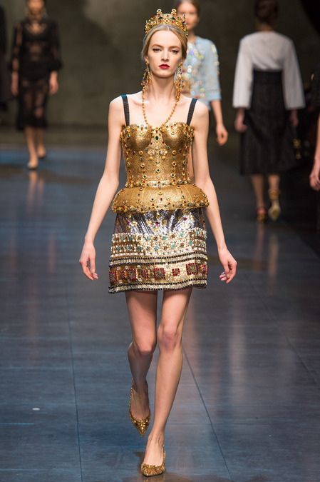karteenz:  Dolce and Gabbana Fall 2013 RTW