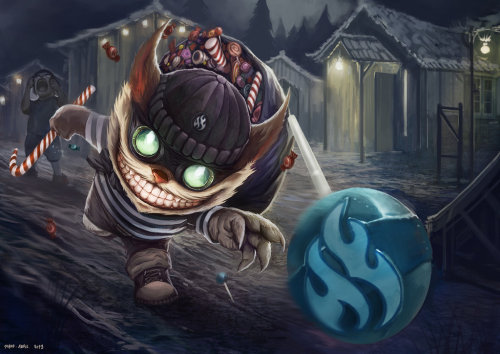 theriotleague:  Candy Burglar Ziggs by ~Shev14th