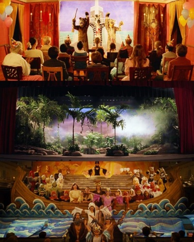 sinemasanati:  Theater Scenes from the Wes Anderson