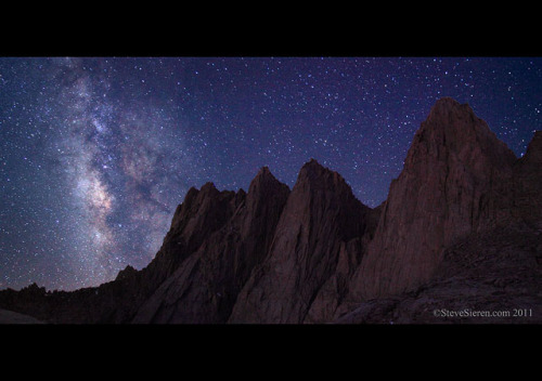 lex-luthr:  Mount Whitney, Milky Way