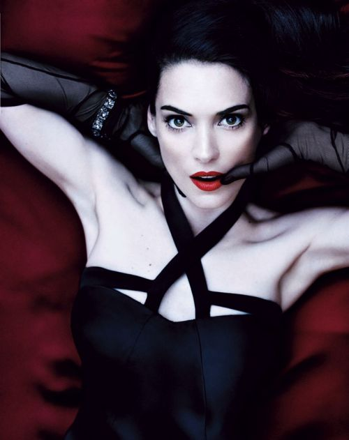 Winona Ryder for Interview Magazine Photo: Craig McDean