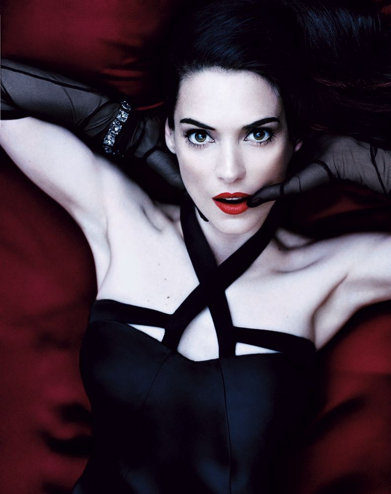 intothegloss:  Winona Ryder for Interview Magazine.