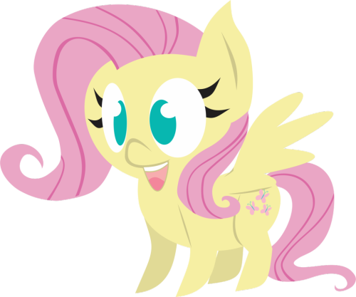 cocoa-bean-loves-fluttershy:  Version Chibi 2 - Fluttershy by INKandMYSTERY