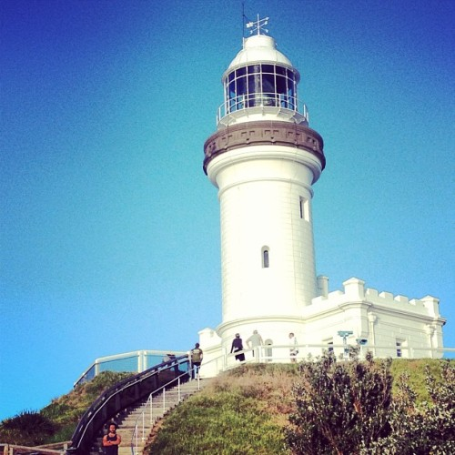 Where's Waldo? #rvcacaravan photo @pmtenore  (at Cape Byron Lighthouse)