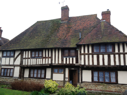Tudor building in Headcorn, Kent, where we went for lunch.