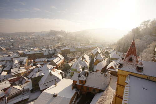 allthingseurope:  Sighisoara, Romania (by **Alice**)