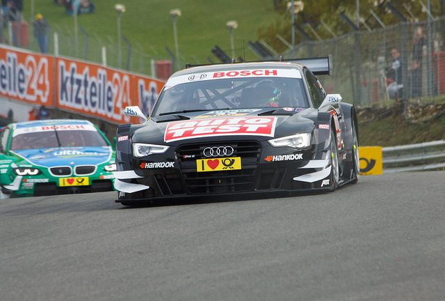 theycallmeaj:  DTM Audi Sport Team Abt Auto Test RS5 DTM (Timo Scheider) by GazHPhotography.co.uk on Flickr.