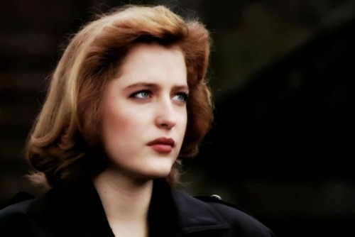 If you don't know and are not fond of Scully I pity you