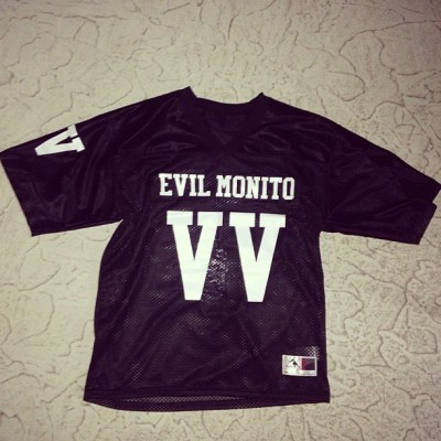 Kind thanks to @heyphilchang for my #MRKIM #EVILMONITO #V6JERSEY