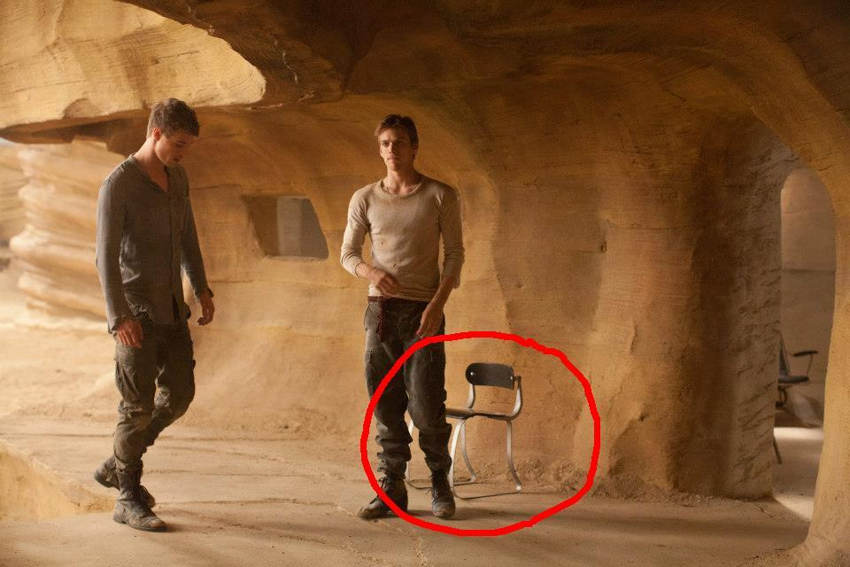 Has anyone else wondered what that stylish chair is doing in the caves???