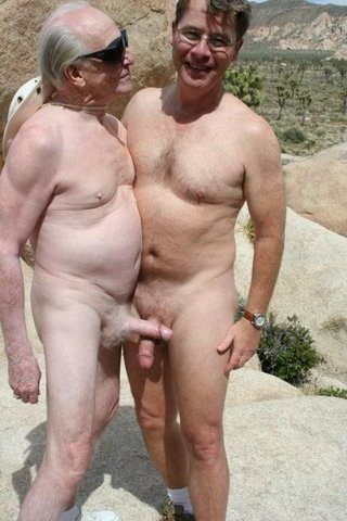 Naked Gay Grandpa 41