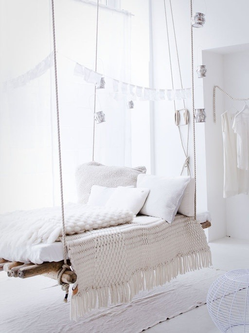 myidealhome:   white swing (via vt wonen)