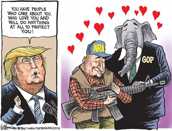 (cartoon by Kevin Siers)