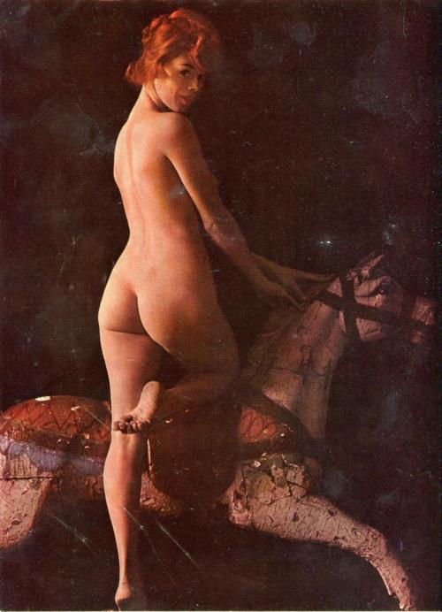 (via Rogue Vol 9 No 5 October 1964 | VintageGirlieMags.Com)