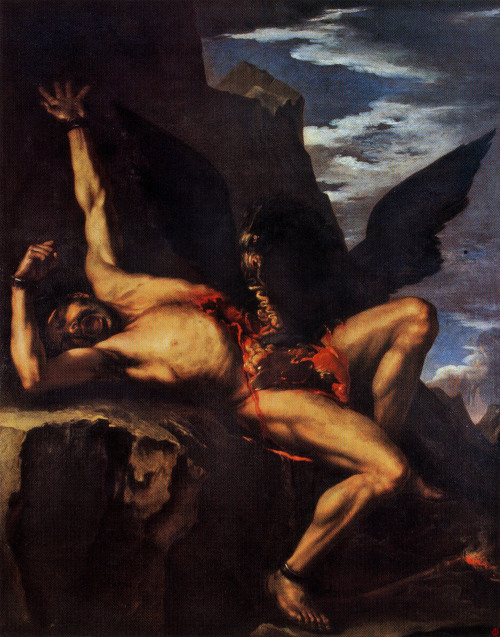 Prometheus, Salvator Rosa, 1639