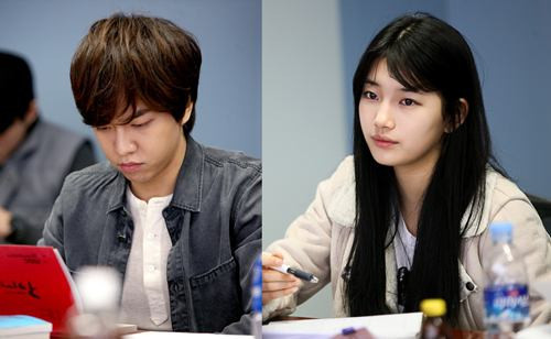 sujielove:  Suzy & Lee Seung Gi, Drama's First Script Reading