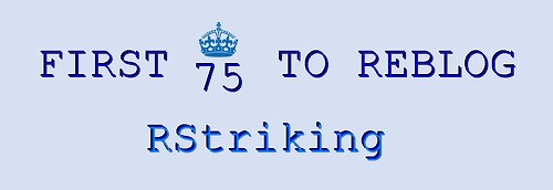 rstriking:  *Only the image shows in your blog* I'll choose TWO of each: Best URL Best Banner Best Theme Best Posts Best Overall Cutest Girl Favourite Guy Fav 1 Fav 2 Fav 3 Random 1 Random 2 You don't need to follow me, just check out my blog  RStriking