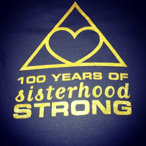 victorian-porcelain-doll:  Love my new Phi Sig centennial shirt 💙💛