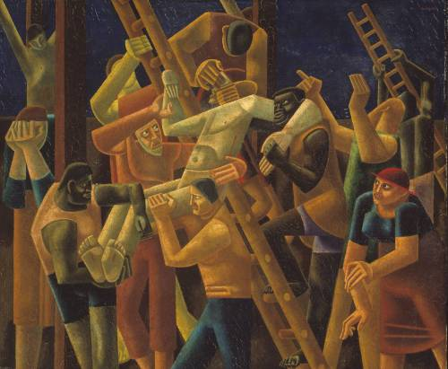 William Roberts, Deposition from the Cross, c.1926