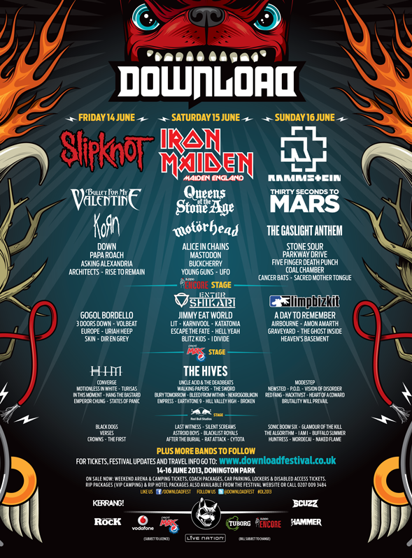 Download Festival have just added 49 new bands to their line-up! Click the image for more info \m/