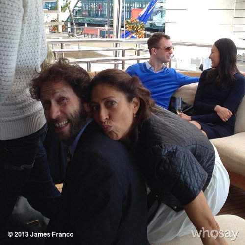 The Nelsons in cannesView more James Franco on WhoSay