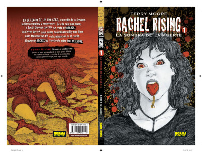First look at the cover to Spanish version of Rachel Rising book 1, from NormaEditorial.