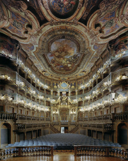 laurenxwolfe:   Margravial Opera House, Bayreuth, Germany. (© David Leventi Photography. All Rights Reserved.)  beautiful