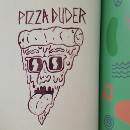 🍕🍕🍕 #pizza #duder #coreythompson