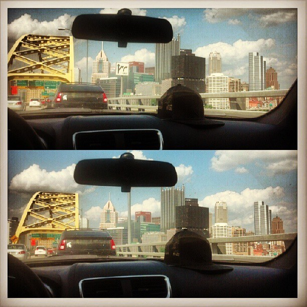 Officially Home. Back In Da Burgh! 👍😊