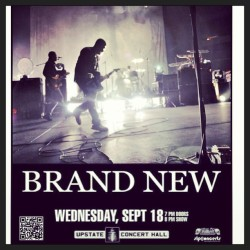 Who else is going? @brandnewrock #brandnew #cliftonpark #thisisgoingtobeawesome