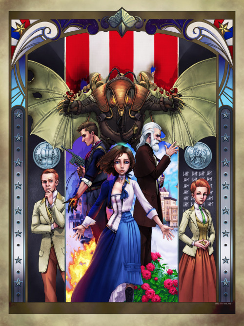 bioshockinfinitebooker:  *Bioshock Infinite* Constants and Variables by Ghostfire