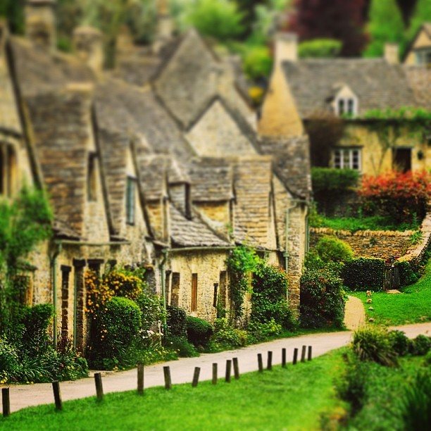 Foto do dia na wiki: Arlington Row, em Bibury