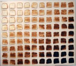 I don't mind burnt toast.