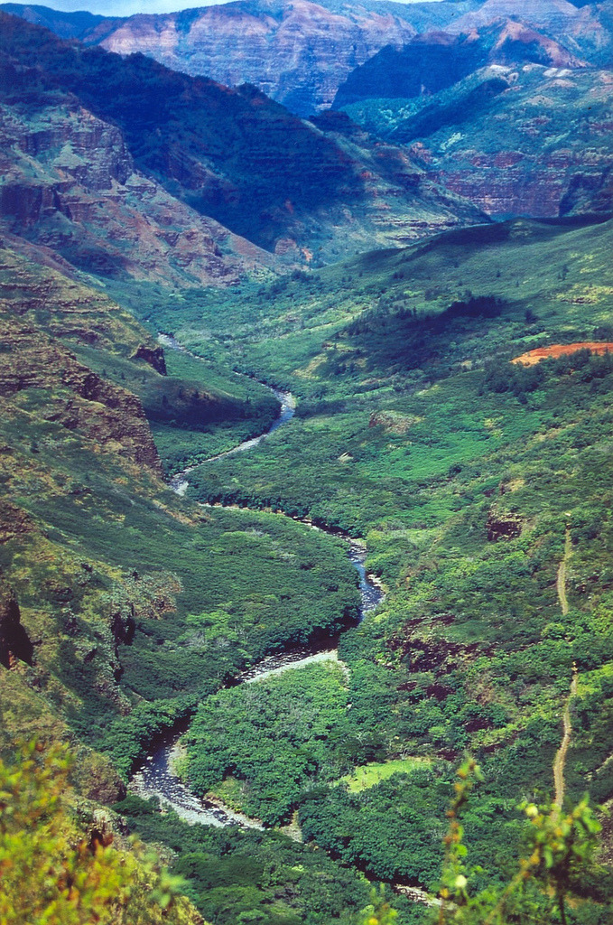 disminucion:  River in Canyon