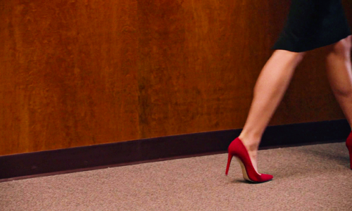twin peaks 3x09 high heel