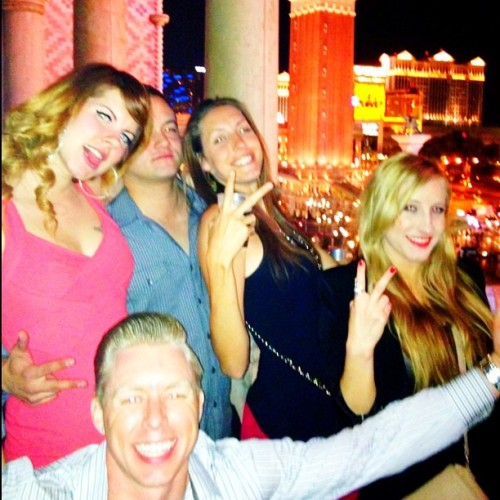 Vegas night one @ #Tao w/ Candy, Pat, Heline & Mason <3 #Vegas #besttripever #live #livinitup #lifeistooshort #family #friends #friendsforlife #lights #city #sincity