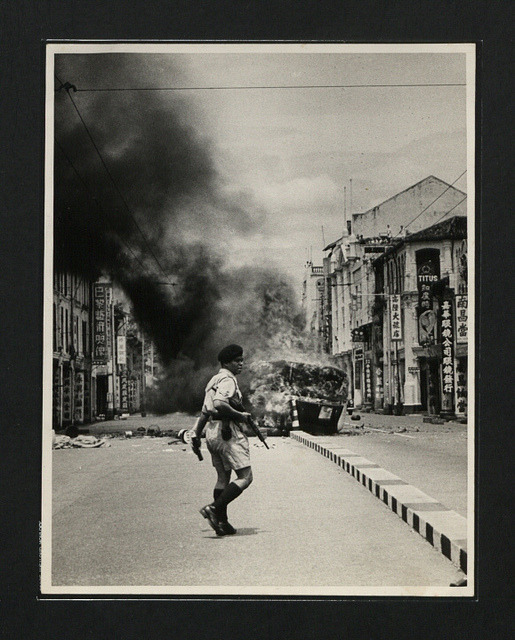 """Communist front inspired riots, Singapore"", 26-Oct-1956 weiyulive:  CO 1069-567-1 by The National Archives UK on Flickr."