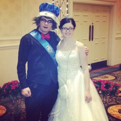 Me and Andrew the Prom King. Perfect Prom Night. I had a lot of fun:) #prom #prom2013 #promking #promnight #promdress #promhair #promgirl #prommakeup #whitedress #studdedpurse #suitandtie #redbowtie #blue #nightinparis #paleskin #palegirls #girlswithglasses #blackglasses #blackhair #smile #opryhotel