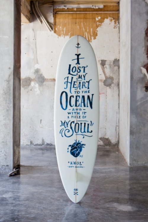 urbansurfergirl:  I lost my heart to the ocean and with it a piece of my soul - danewsea:  TRUE
