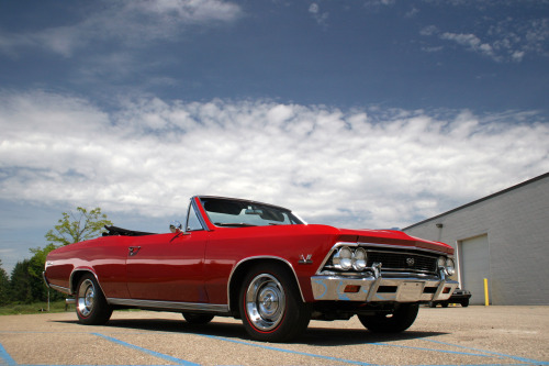From the Lingenfelter Collection: 1966 Chevrolet Chevelle SS Convertible