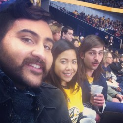 And then we went to a Preds game. (for free) #perksofhavingfriendswithrealjobs #stillpretendingtobenormal #we<3hockey (at Bridgestone Arena)