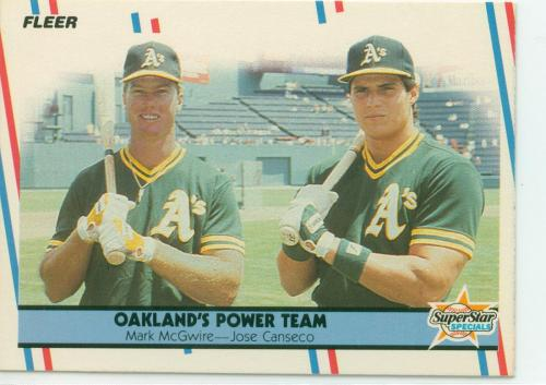 Greatest two 'roid users in baseball history. I miss the 'Roid Era of baseball