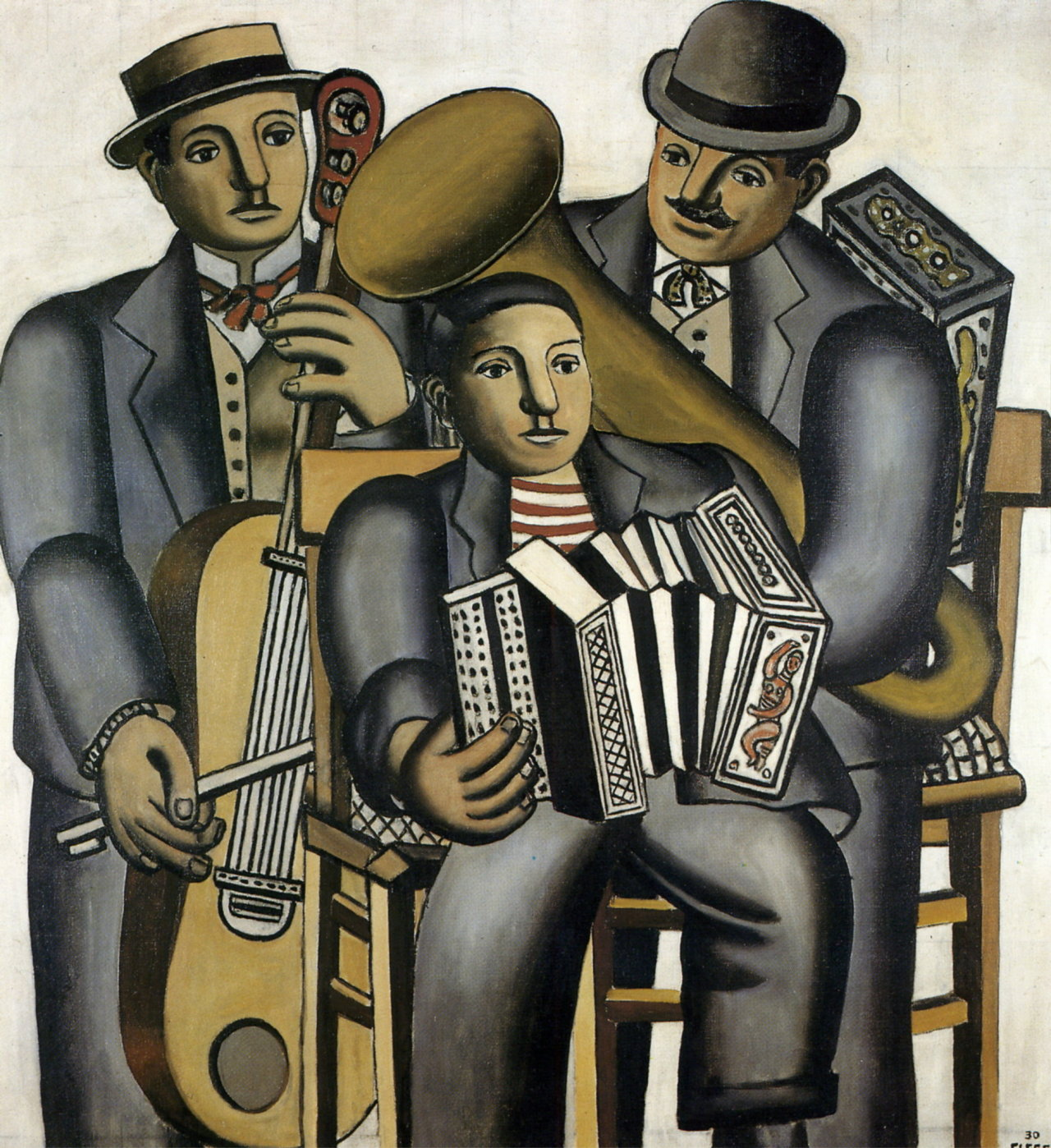 Fernand Leger - Three Musicians 1930