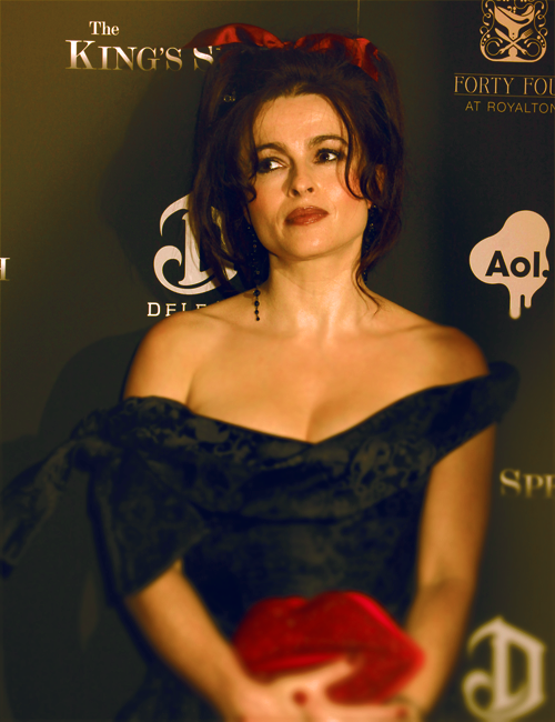 Helena Bonham Carter at The King's Speech Premiere in NYC, 2010